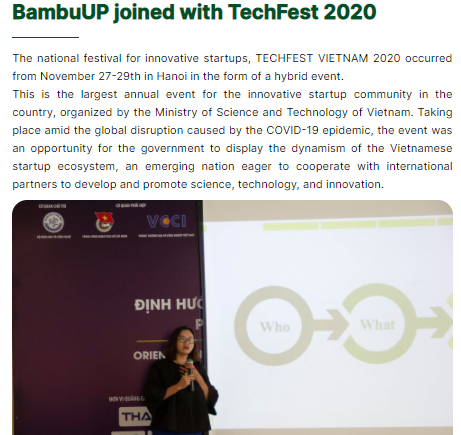 BambuUp - A One-Stop Innovation Platform 2