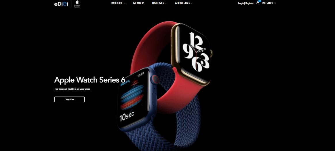 eDiDi - A creative product display e-commerce website 3